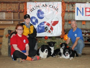 Our Agility Herd & Family October 2015